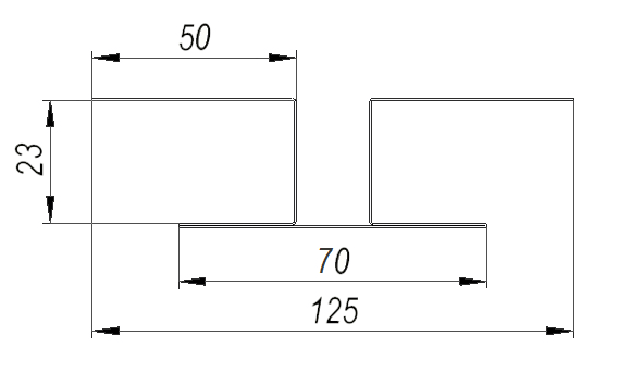 Планка стыковочная Deckline