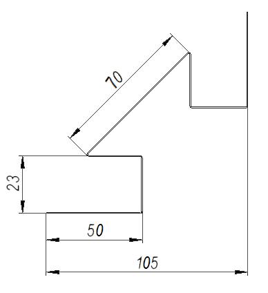 Угол внутренний DeckLine