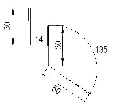 Планка стартовая DeckLine