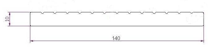 Универсальная доска DeckLine 3D-тиснение/двухсторонняя