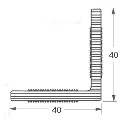 Угловой профиль DeckLine